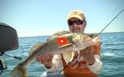 Hair Jigging Walleye