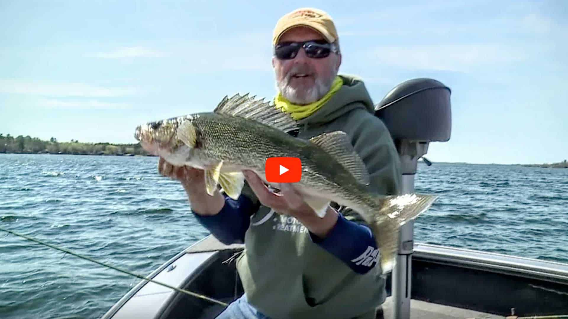 downsizing for walleye