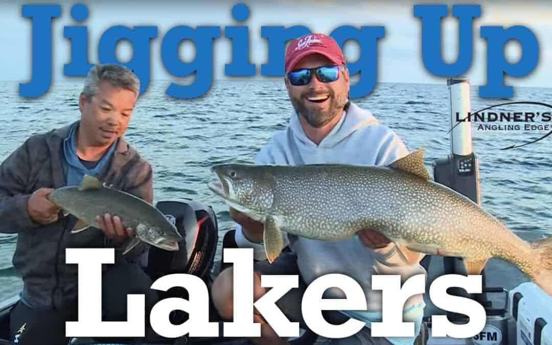Jigging Lake Trout