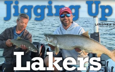 Jigging Lake Trout