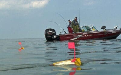 Offshore Trolling for Trophy Walleyes and Muskies