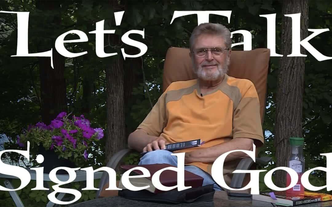 Let's Talk, Signed God