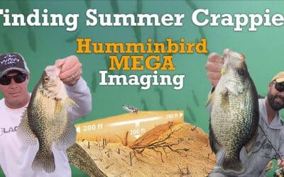 Finding Summer Crappies: Humminbird MEGA Imaging