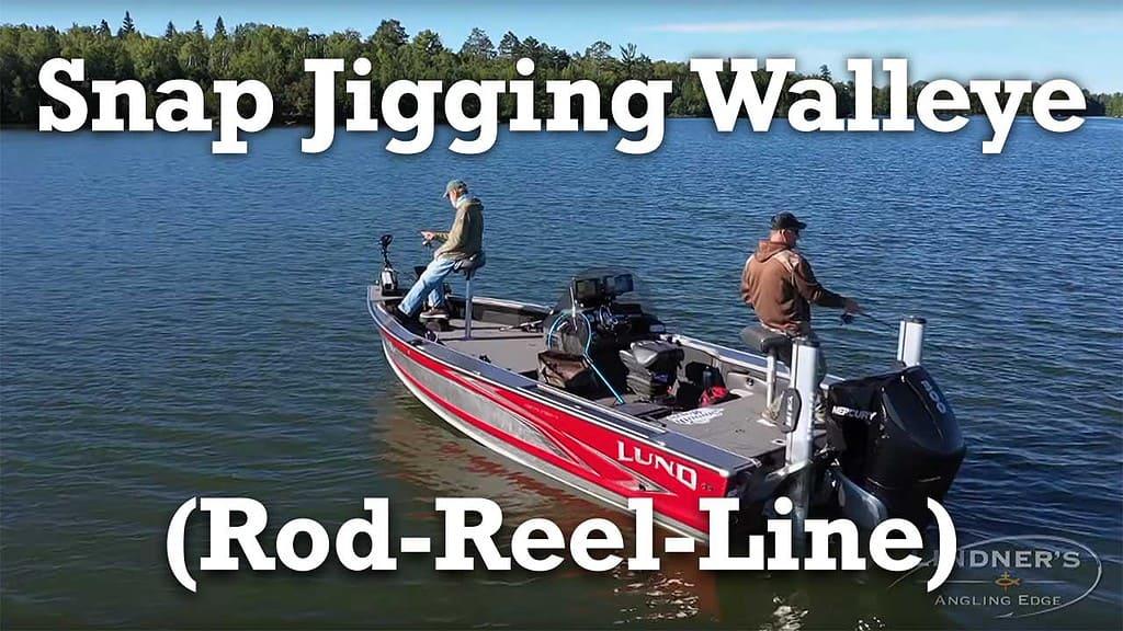 Snap Jigging Walleye