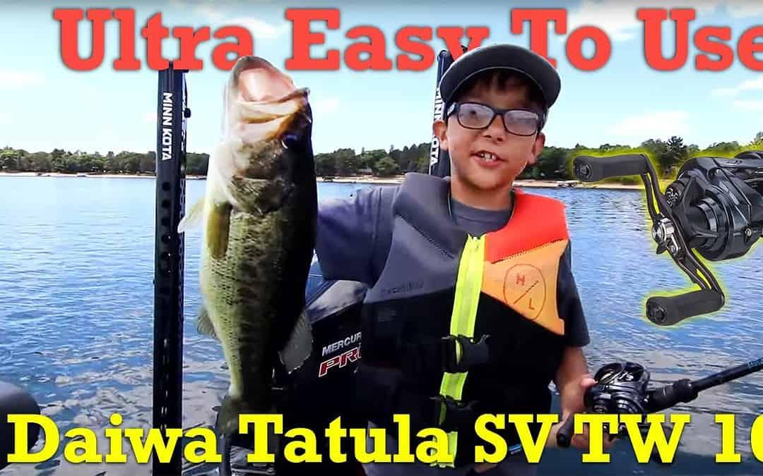 Ultra Easy To Use Daiwa Tatula SV TW 103
